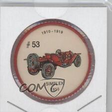 1961 Jello Picture Wheels Automobiles #53 Simplex Non-Sports Card 1s8