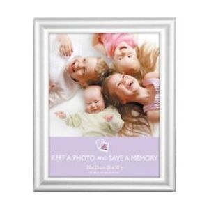 Silver Border Easy Range Photo Frame Freestanding or Wall Hanging - Various Size