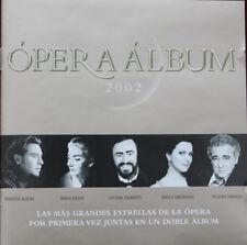 OPERA ALBUM 2002: 2 CDS - SARAH BRIGHTMAN, LUCIANO PAVAROTTI; JUSSI BJÖRLING ETC