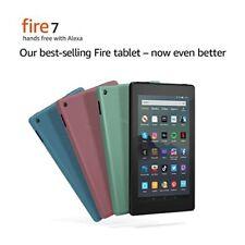 "NEW Amazon Fire 7 Tablet w/ Alexa. 7"" Display, 16 GB 9th Gen. - ALL COLORS"