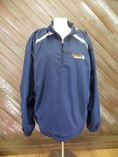 Sport Tek Jacket Raiders Too Golf Club Pull Over WindBreaker Men's Blue  Size XL