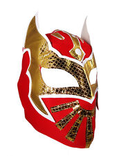SIN CARA YOUTH JR Wrestling Mask Lucha Libre RED