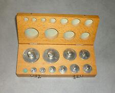 Justiergewicht Kalibriergewicht Apothekergewicht 10-teiliges Set 1g - 200g