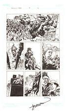 Walking Dead #81 p.16 - Zombie Herd - 2011 art by Charlie Adlard