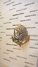 Insigne de beret : Parachutiste des troupes de marine
