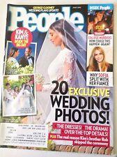 People Magazine Kim Kardashian Wedding Kanye West June 9, 2014 051517nonrh