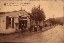 CPA MILITAIRE Camp d'Elsenborn-Avenue du Roi Albert (317297)