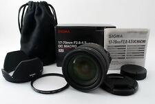 Near Mint Sigma 17-70mm Auto Zoom f/2.8-4.5 DC Macro W/ BOX for Nikon from Japan