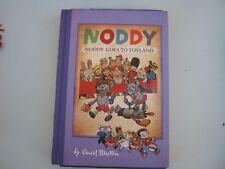 noddy book by enid blyton noddy goes to toyland hard cover