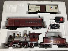 Bachmann Santa Fe SF 51, 4-6-0 Steam Locomotive Engine and Tender, Large G Scale