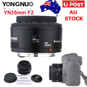 Yongnuo YN35mm EF 35mm F2 Wide-angle Fixed Auto Focus Lens For Canon EF EOS Cam
