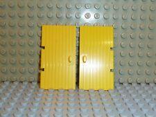 LEGO® Ritter Stadt 2x Tür gelb yellow 3644 1x4x6 aus Set 368 K263