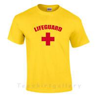 LIFEGUARD Cross Mens Ladies Kids T-shirt.STAG DO,Patrol Holidays Summe Gift tops