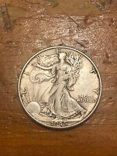 1945-S 50C Walking Liberty Half Dollar AU+