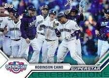 2017 Topps Opening Day Superstar Celebrations Insert #13 Robinson Cano Mariners