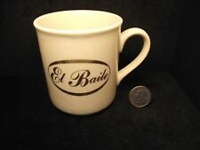El Baile ( The Dance ) Vintage 1982 Coffee Mug From Fred Astaire Dance Studio