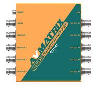 AVMATRIX SD1191 1x9 3G-SDI 3G/HD/SD-SDI  Reclocking Distribution Amplifier