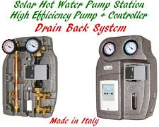 Drain Back Solar Hot Water Station Built-in Controller & High Efficiency Pump