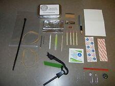 Bare Basic Survival Tin Kit Altoids Military BOB Camping Pocket Compact Light