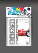 Stencil Alfa romeo tipo 159 + decal scale 1:20 (basic kit MFH) code 000061