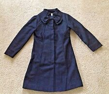 Dressy wool coat black girls #6
