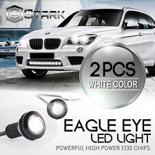Eagle Eye 18mm 5730SMD High Power WHITE LED Fog Light DRL Backup Signal - 2PCS