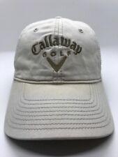 Callaway Golf Cap Hat Adjustable Adult 100% Cotton Nice