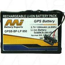 3.7V 1.25Ah Replacement Battery Compatible with Navman BP-LP850/11-A1L