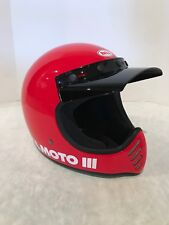 Bell Moto-3 Full Face Motorcycle Helmet Red Classic Small