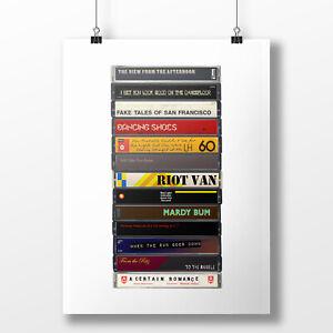 Arctic Monkeys Poster: Cassette Print, Whatever People Say, Fan, Gift, Art,