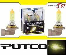 Putco 3000K Yellow H12 230012JY 55W Two Bulbs Fog Light Replacement Plug Play OE