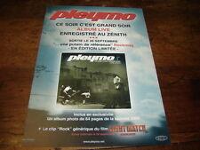 PLEYMO - Petite Publicité de magazine CE SOIR C'EST GRAND SOIR !!!!!!!!!!!!!
