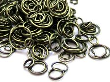 30g Of Mixed Size Jump & Split Rings Findings Craft Silver Gold Plated + MORE ML
