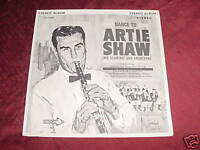 ARTIE SHAW - SEALED 45 - HIS CLARINET & ORCHESTRA  JAZZ