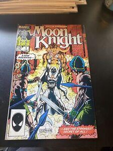 Moon Knight Fist of Khonshu #1 (1985 Series) Marvel Comics DIRECT