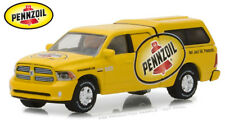 Greenlight Dodge Ram 1500 with Camper Shell 2014 Pennzoil 41050 1/64