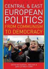 Book New Central and East European Politics From Communism to Democracy
