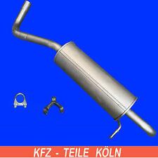 SKODA Fabia MK1 /& MK2 1.2 Sección De Reparación Flexible De Escape Cat Flex Tubo delantero 01-14