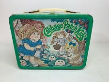 Vintage 1983 Cabbage Patch Kids Metal Lunch Box