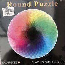 1000PCS Round Jigsaw Puzzle Rainbow Palette (BRAND NEW & SEALED)