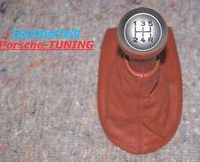 orig. Porsche Boxster 986 Tequipment Schaltknauf rot gear knob shifter 5. Gang