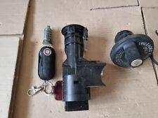 2008 Fiat 500 Key Fob Ignition Barrel lock set Fuel Cap Petrol