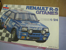 NEW, SEALED Box, Esci Renault R-5 Gitanes, 1/24 Scale, Car Model Kit #3016, RARE