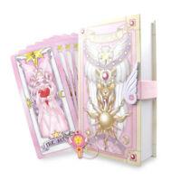 Anime Card Captor Sakura Cards With Pink Clow Magic Book Set Prop Gift 56 PCS