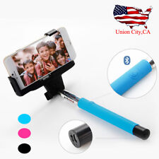 Remote Control Bluetooth Selfie Stick Tripod Monopod 360° Clamp for iOS Android