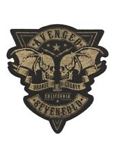 Avenged Sevenfold Orange County Cut Out Black A7X Patch 9x9.5cm