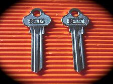 "Silca Lockwood Key Blank Pair ""AB"" Keyblank-Free Postage! LW6"