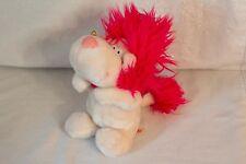 Russ Vintage Pink & White Plush Toy Doll DANDY - RARE!
