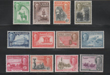 GOLD COAST JULY 1948, DEFINITIVE SET SG# 135-146, CV £85, MHINGED