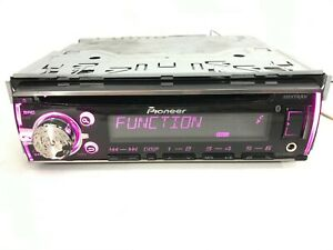 Pioneer DEH-X6700BT Bluetooth Car Stereo Radio CD Player Apple iPod Ready Aux-In